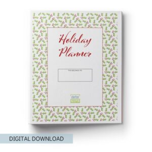 Holiday Planner for Organizing and Finding Christmas Joy