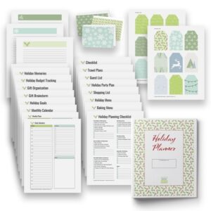 Holiday Planner for Organizing and Finding Christmas Joy - Flash Sale