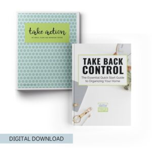 The Essential Home Organization Book and Binder Bundle